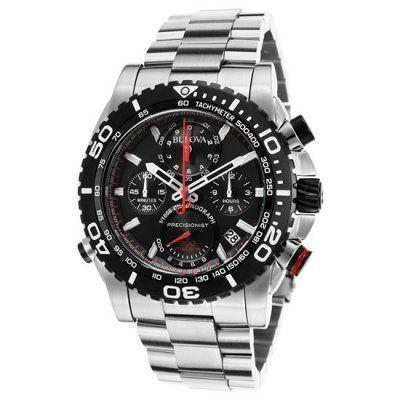 Bulova - Men\'s Chronograph Precisionist Watch - 98B212 - RRP £619.00 - Online Price £526.00