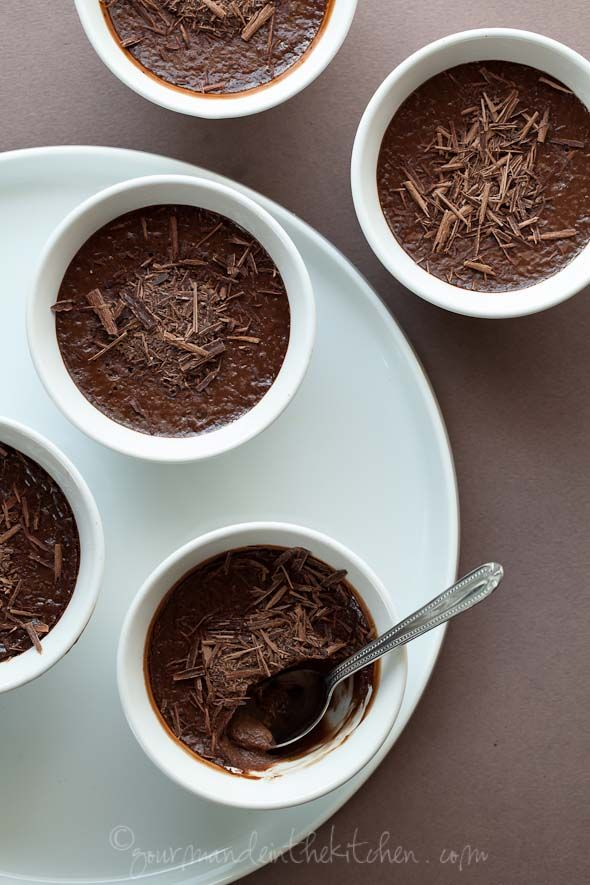 de creme honey lemon pots de creme smoked tea infused chocolate smoked ...