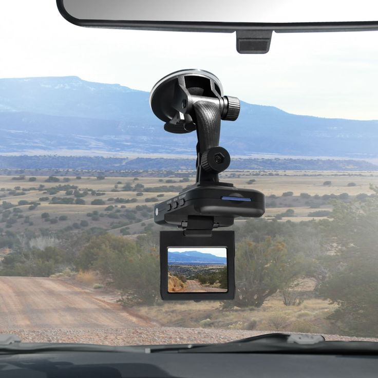 The Roadtrip Video Recorder from Hammacher Schlemmer. Why not record your next one? Especially if you have young kids!