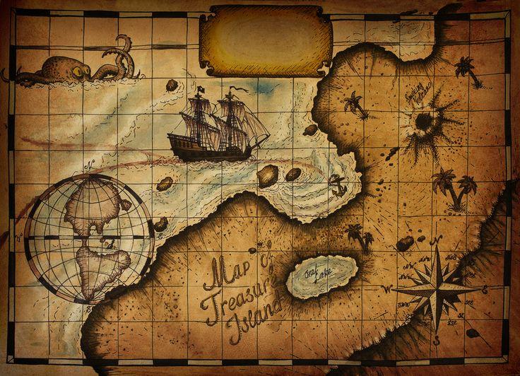 Где находится остров Сокровищ?