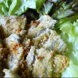 Tortiera di alici, ovvero alici marinate nell'aceto e poi gratinate al forno con pangrattato, capperi, aglio e prezzemolo!