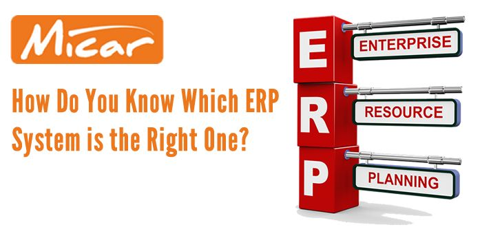 Choosing the correct ERP system.