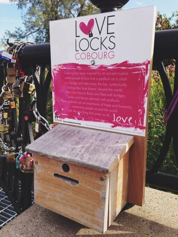 Love locks in Cobourg, Ontario! | mycobourg.ca
