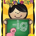 Word Work '-ig' {Let's Learn CVC Word Families}  The following activities are included in your purchase:  1. '-ig' Picture Poster and '-ig' Word Wa...