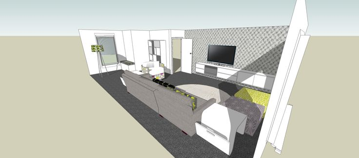 SketchUp Lounge Area