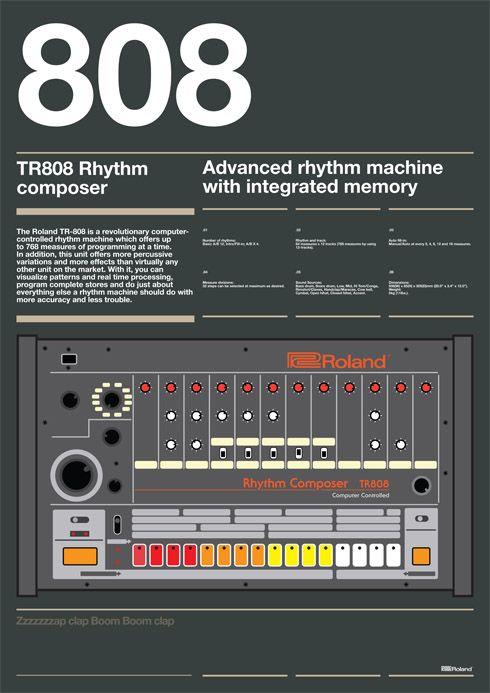 Roland TR-808 ad