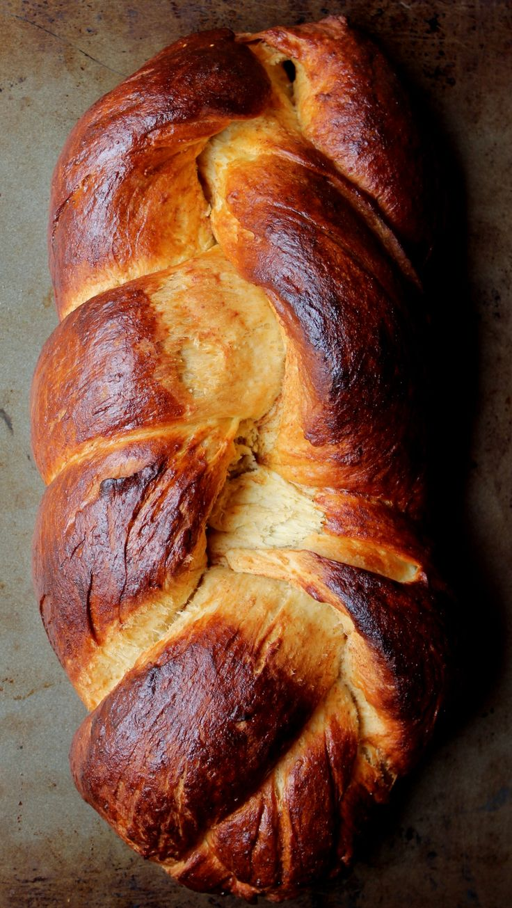 Homemade Challah Bread Recipe
