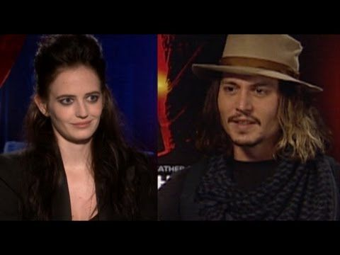 Johnny Depp & Eva Green DATING after filming DARK SHADOWS - http://hagsharlotsheroines.com/?p=45547