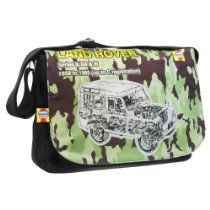 Haynes #LandRover Camouflage Messenger Bag #Xmas