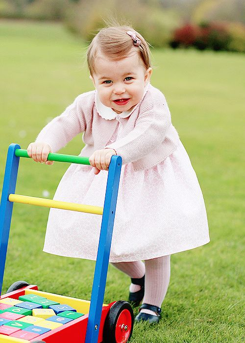 ♕ Princess Charlotte of Cambridge on her first birthday, May 2, 2016 | To mark the occasion, Kensington Palace has released four new pictures of the youngest member of the royal family.