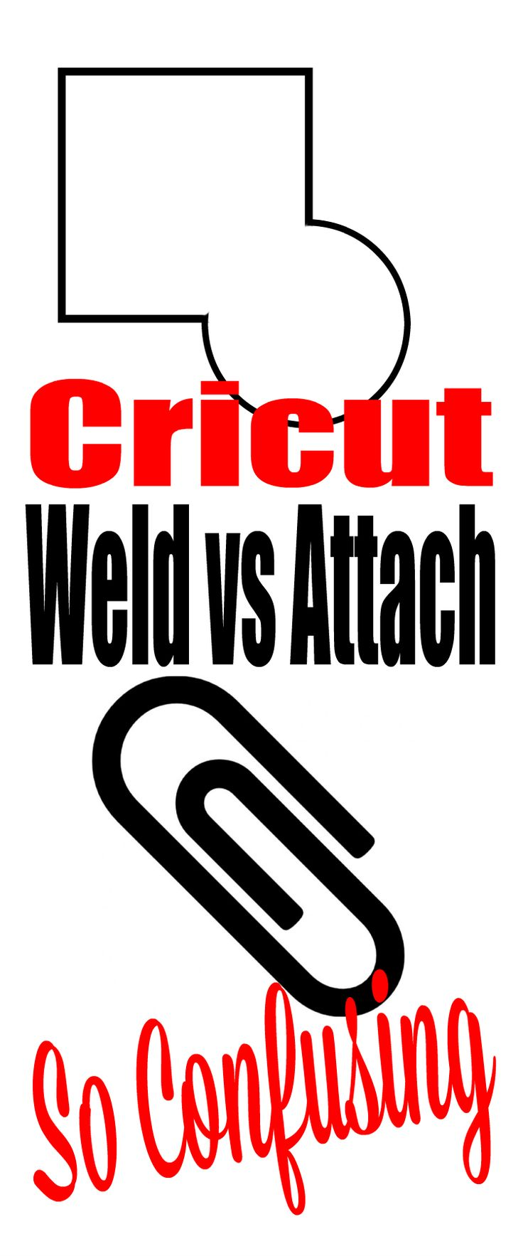 62 Best Addicted To Cricut Images On Pinterest Cuttings Ironon Obsess Technolog Devic Project Circuit Idea Weld Vs Attach Understanding Design Space Features Is Hard