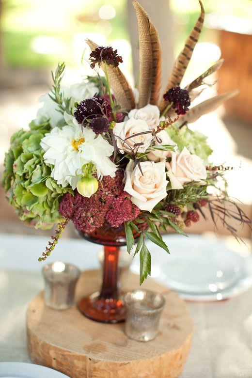Best pheasant feather arrangements images on pinterest