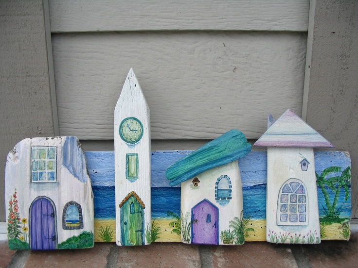 More driftwood house by Amanda Bradley