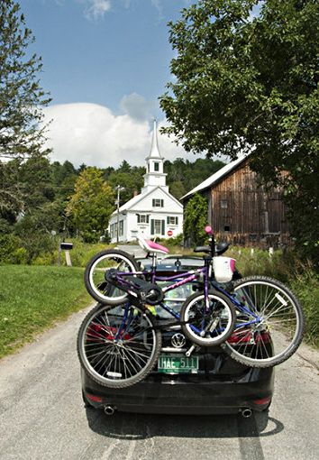 9 scenic places to go biking in Vermont.