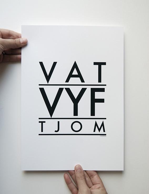 VAMP FURNITURE: New prints by Boerdha Ontwerp at Vamp - 06 March 2013