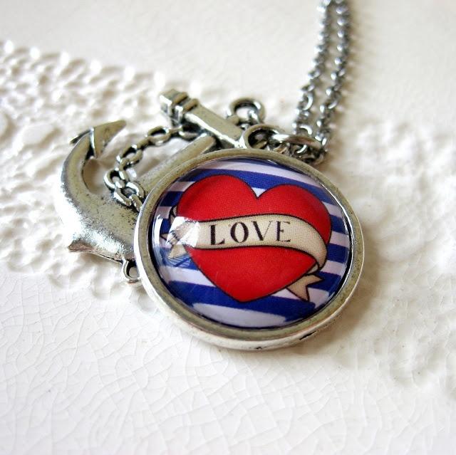 Hazel Loves Design: Anchored in LOVE... www.prettybirds.co.nz