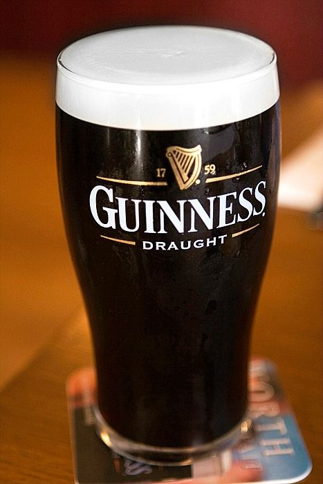mmm Pint of Guinness in Dublin - visit our blog for Ireland photos and travel tips!