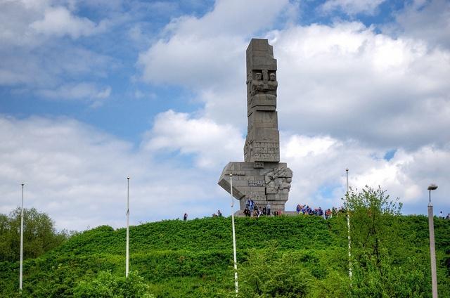 Westerplatte to symboliczne miejsce wybuchu II wojny światowej. #Gdansk