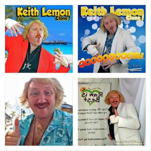 Multi character impressionist and Keith Lemon Clone. As seen on Britain's Got Talent in the semi final 2011 aka The Entertainernator Now available as a singer and comedy impersonator. Based East Midlands. A full night of entertainment from one man. Check out this top comedy impressionist aka Stu Arnold. Keith Lemon Clone Stu Arnold Ideal for Trade Fairs, Team Building, Festivals and...