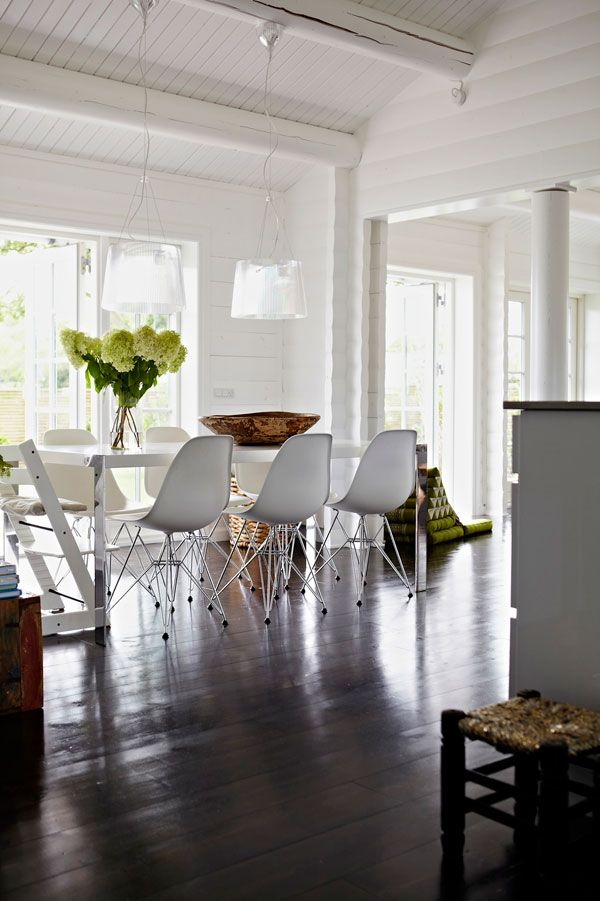 A SUMMER HOME IN DENMARK - style-files.com check out all rooms for ideas