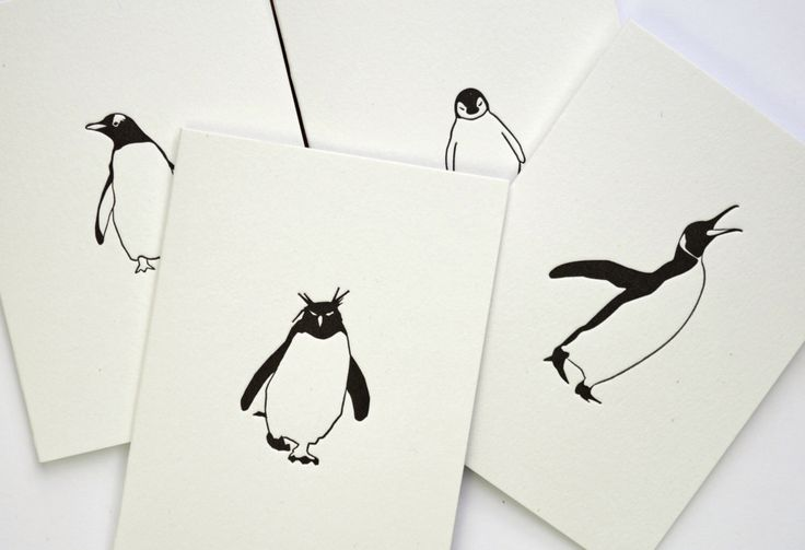 Note Cards - Christmas card pack - Letterpress Cards - Card Pack - Penguin Christmas Cards - Christmas Note Cards - Christmas Cards - Luxury by PenguinInks on Etsy https://www.etsy.com/listing/252843865/note-cards-christmas-card-pack