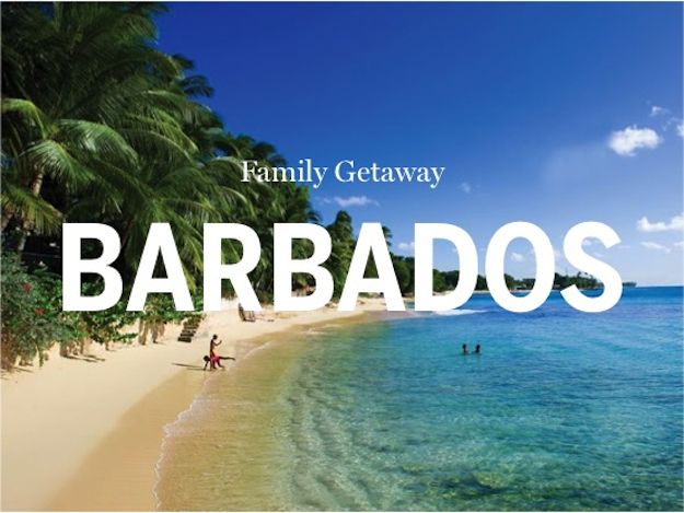 The Family Friendly Winter Vacations Guide recommends the top Barbados accommodation & activities for families.