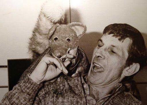 Rare and beautiful celebrity photos   Leonard Nimoy