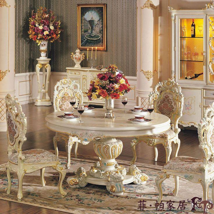 Palacio Real de muebles francés muebles de comedor