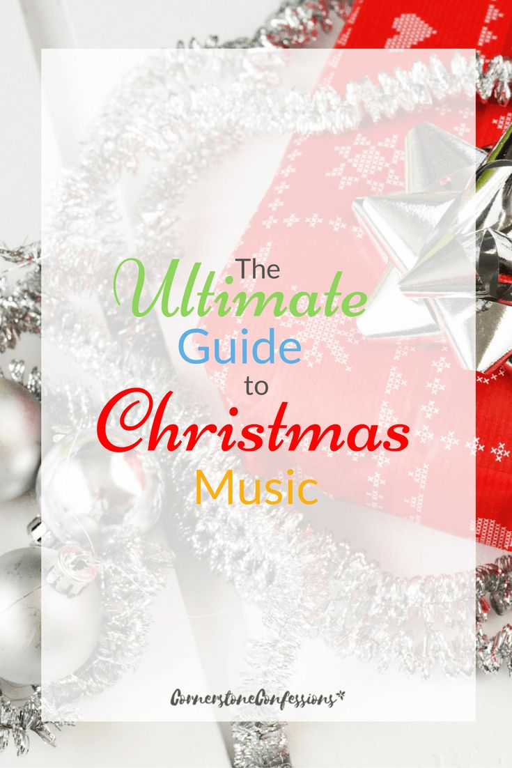 Have the perfect music on hand with this Ultimate Guide to Christmas music--lots of genre specific top 10 lists. via @CornerstoneKat