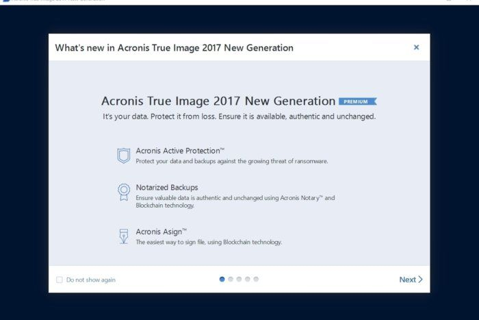 Acronis True Image 2017 review: Fast and powerful image backup