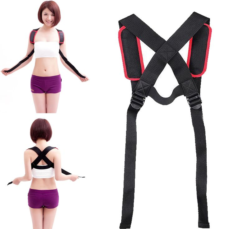 High Quality Shoulder Back Posture Corrector Therapy Chest Brace Support Belt Adjustable for hunchback Posture Correction