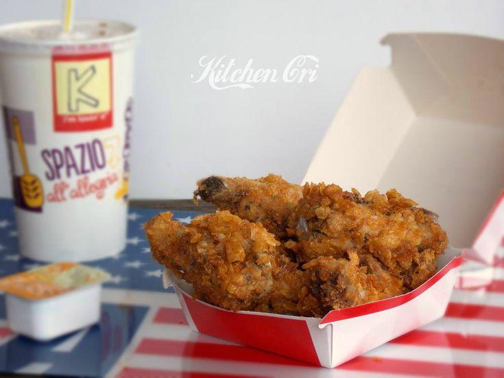 Corn fried chicken (Il mio viaggio a New York III), un pollo fritto spettacolare da gustare leggendo la terza puntata del mio viaggio a New York