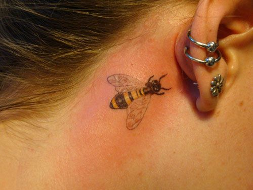 bee tattoos for women - Google Search