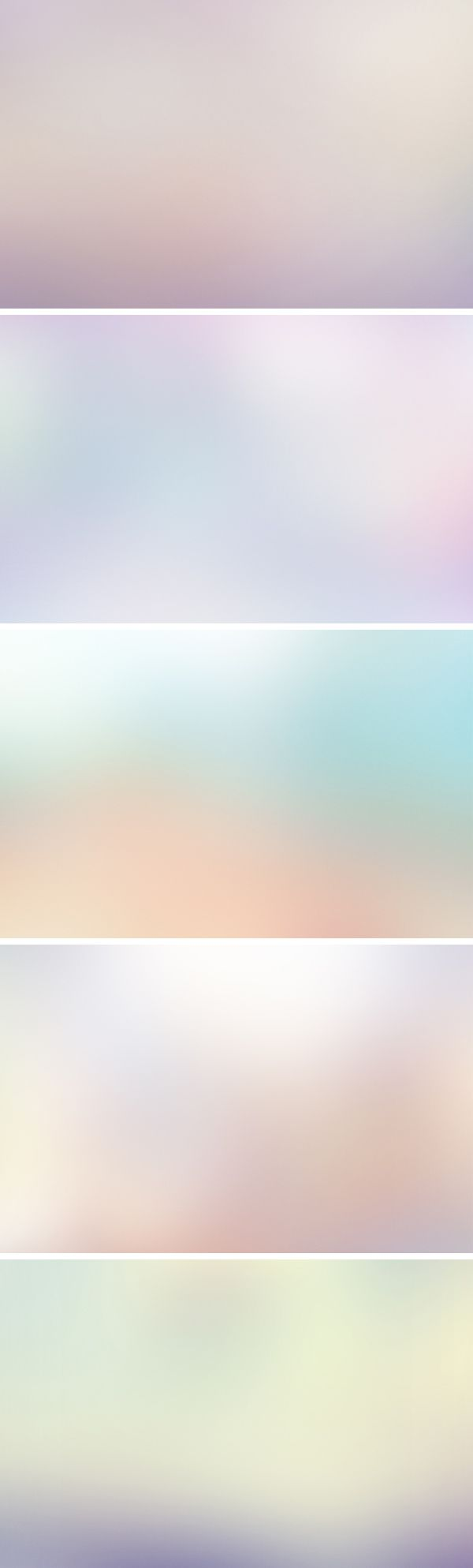 Free - 5 Blurred Backgrounds Vol.2