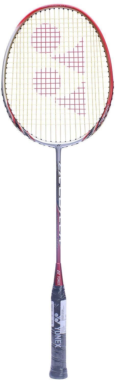 Yonex Nanoray Excel Badminton Racquet 3U (Silver/Red)