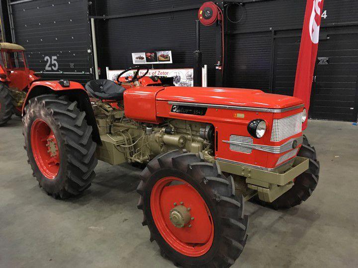 Zetor 5545 Tractors Assen Four Wheel Drive