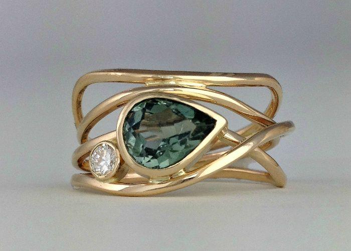 Grüner Horizont Ring