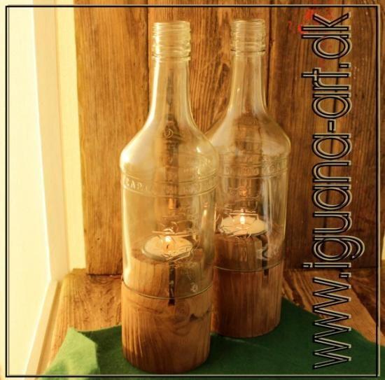 Flaskelys sæt