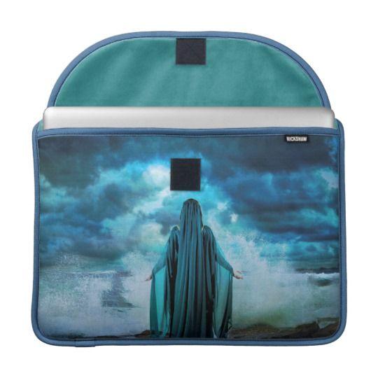 Celtic Goddess Cessair Rickshaw MacBook Sleeve
