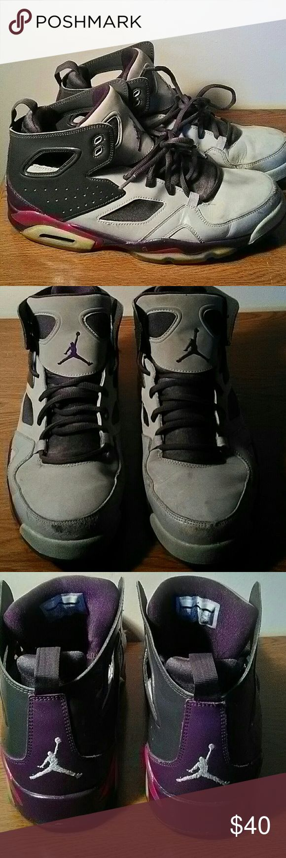 Nike Air Jordan Flight Club 91' Size 10 in good/fair condition. Some wear on toe area. Jordan Shoes
