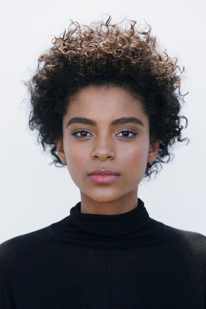 Alecia Morais, Short Curls #blackhair More
