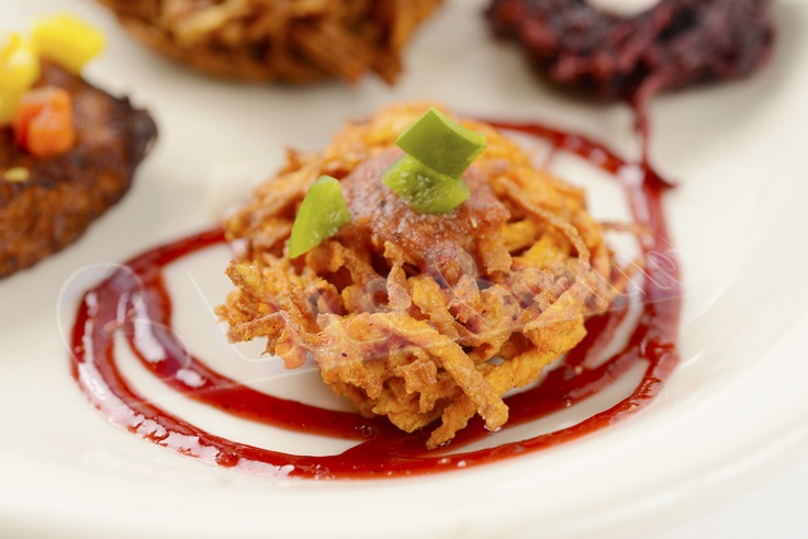 Dig in to a sweet potato latke