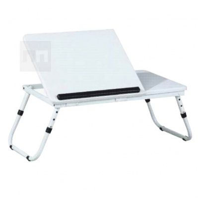 stolek na notebook LY1479 v moderním bílém provedení Evald