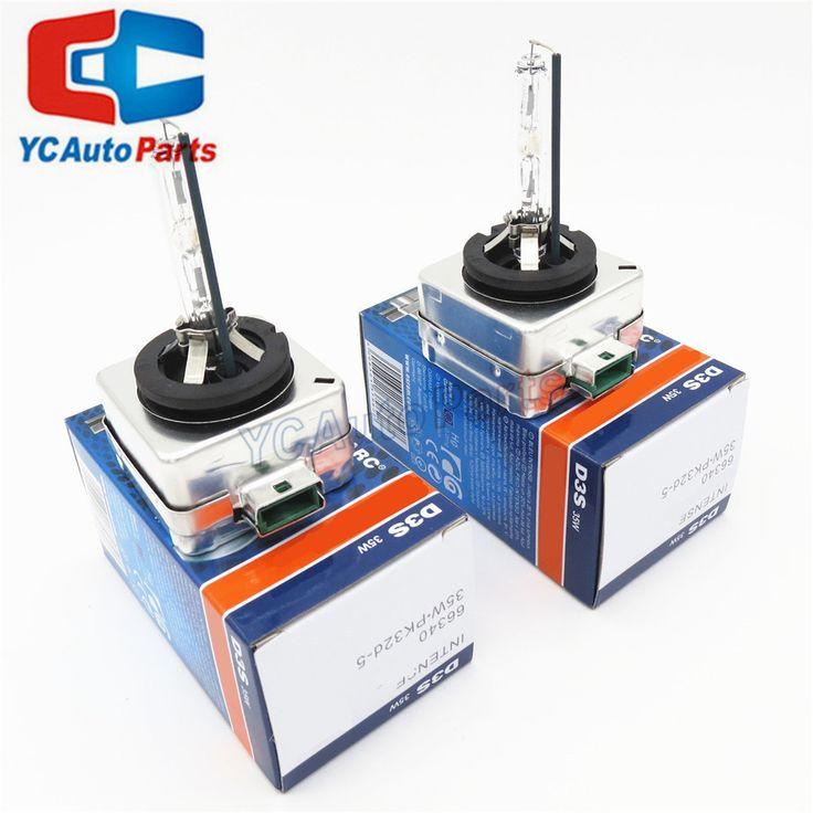 (2pcs/lot) New Parts Original PK32D-5 D3S 66340 66340CBI 12V 35W 4300K 5000K Hid Xenon Bulbs Many Car Models