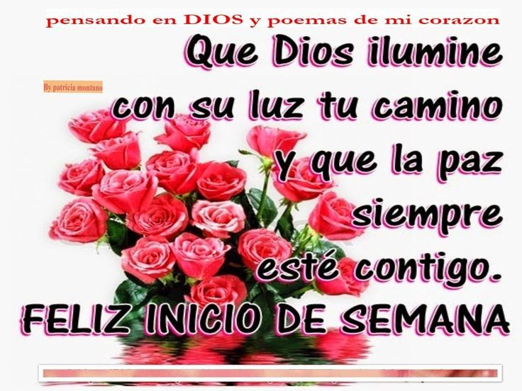 Good Morning Everybody Que Quiere Decir : Best lunes de bendiciones ideas on pinterest