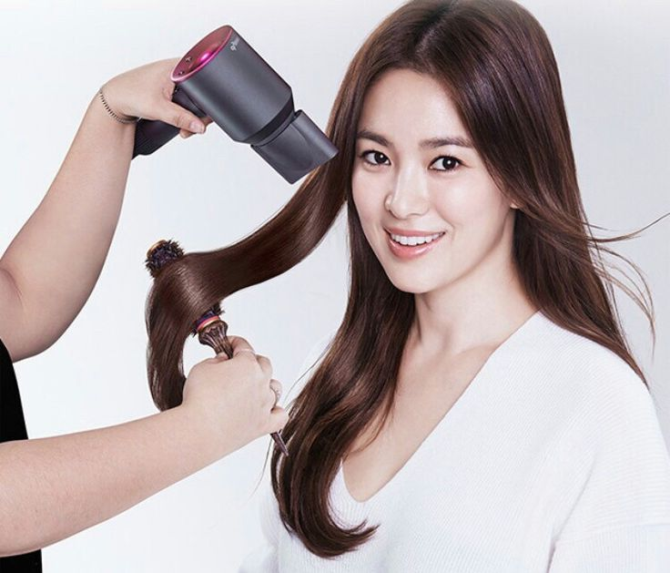 song hye kyo 송혜교 宋惠敎 dyzon supersonic hairdryer 11.11.2016
