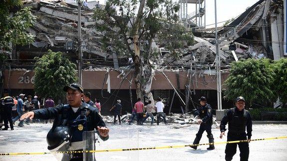 Horrific videos capture terror of Mexico's latest earthquake