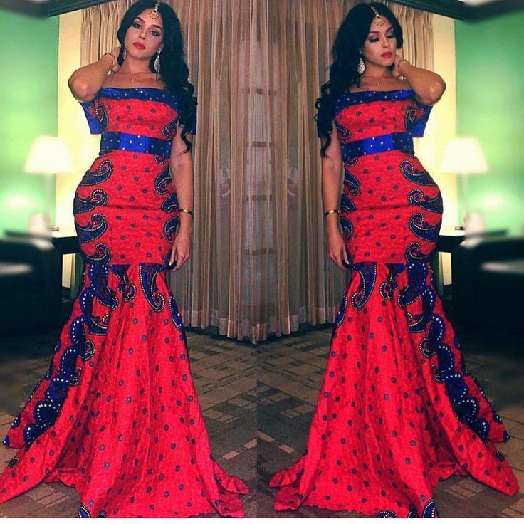 Top Ten Beautiful Ankara Gown Styles For Wedding Event Dabonke | beautiful ankara style ...