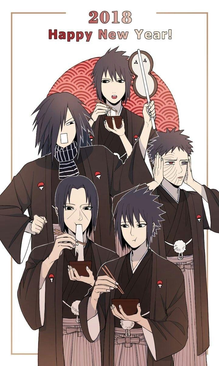 Izuna, Madara, Obito, Itachi, & Sasuke Uchiha | Uchiha