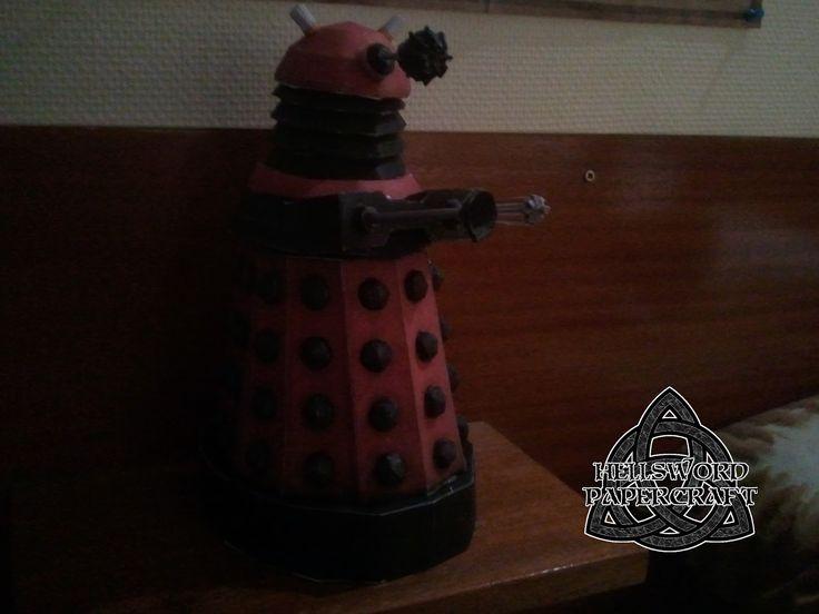 Hellsword Papercraft: Doctor Who Dalek Papercraft